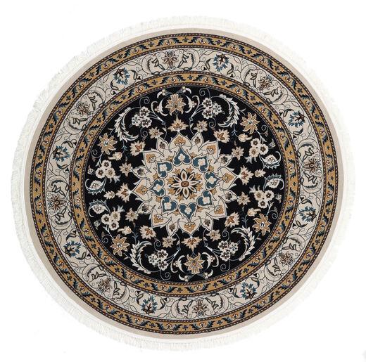 Nain Mahak Dywan Ø 225 Orientalny Okrągły Ciemnoszary/Jasnoszary ( Turcja)