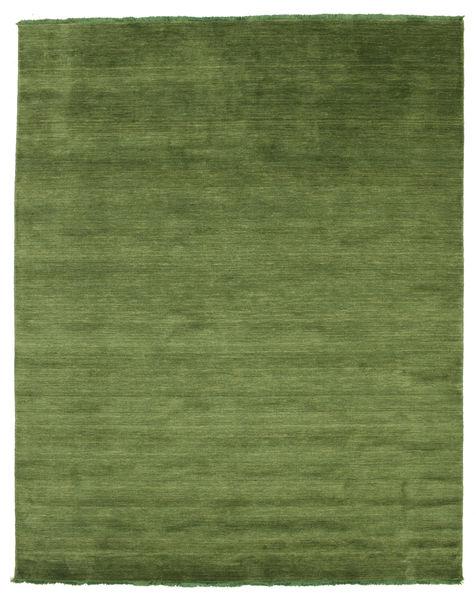 Handloom Fringes - Zielony Dywan 200X250 Nowoczesny Zielony/Oliwkowy/Ciemnozielony (Wełna, Indie)