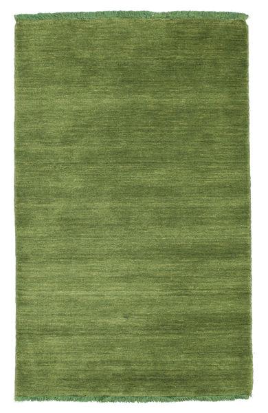 Handloom Fringes - Zielony Dywan 80X120 Nowoczesny Zielony/Oliwkowy (Wełna, Indie)