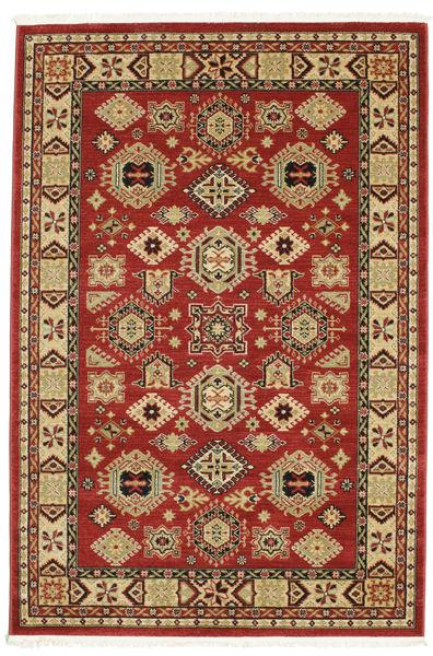 Szyrwan Kazak Dywan 160X230 Nowoczesny Ciemnoczerwony ( Turcja)