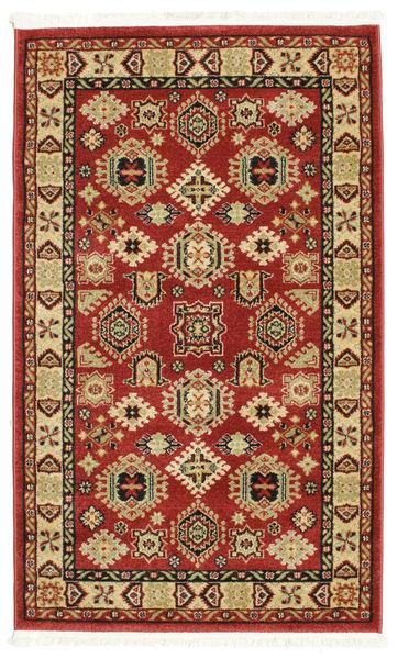 Szyrwan Kazak Dywan 100X160 Nowoczesny Ciemnoczerwony/Biały/Creme ( Turcja)