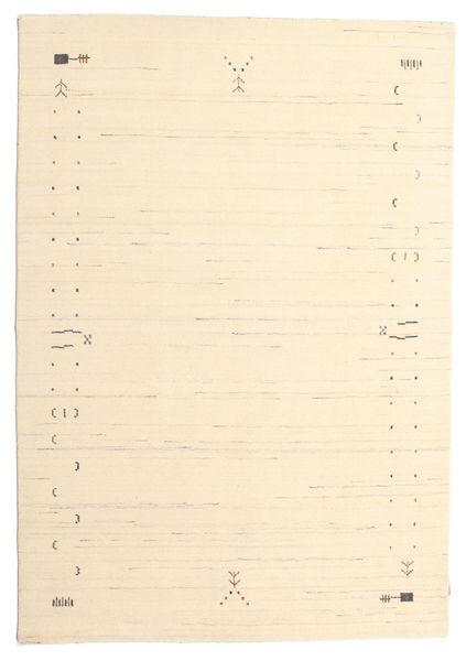 Gabbeh Loom Frame - Kość Słoniowa Dywan 160X230 Nowoczesny Beżowy/Ciemnobeżowy (Wełna, Indie)