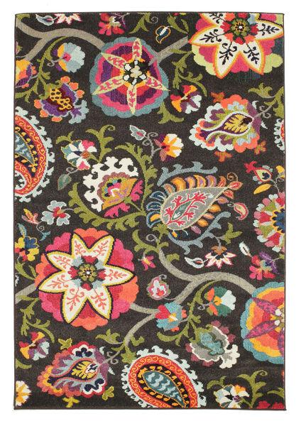 Allegra - Ciemny Dywan 160X230 Nowoczesny Ciemnoszary ( Turcja)