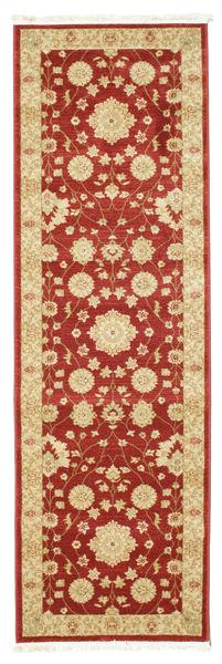 Farahan Ziegler - Czerwony Dywan 80X250 Orientalny Chodnik Ciemnoczerwony/Żółty ( Turcja)