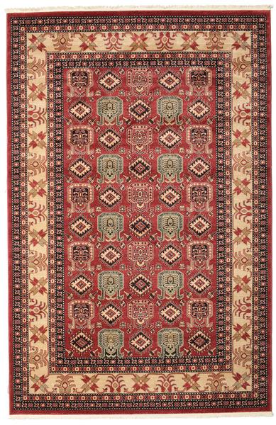 Kazak Simav Dywan 200X300 Orientalny Ciemnoczerwony/Ciemnobrązowy ( Turcja)