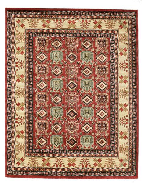 Kazak Simav Dywan 200X250 Orientalny Ciemnoczerwony/Ciemnobrązowy ( Turcja)