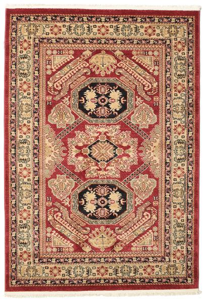 Kazak Mirvan Dywan 140X200 Orientalny Ciemnoczerwony/Ciemnobrązowy ( Turcja)