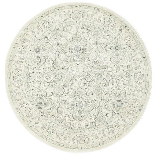 Ziegler Greenville Dywan Ø 200 Orientalny Okrągły Biały/Creme/Jasnoszary ( Turcja)