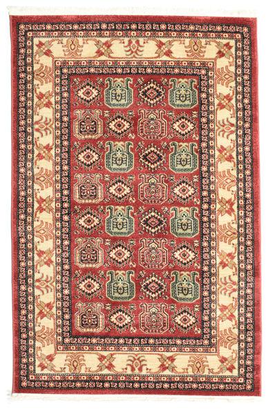 Kazak Simav Dywan 120X180 Orientalny Rdzawy/Czerwony/Ciemnoczerwony ( Turcja)