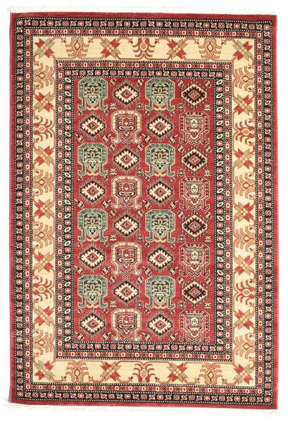 Kazak Simav Dywan 160X230 Orientalny Ciemnobrązowy/Rdzawy/Czerwony ( Turcja)