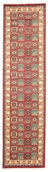 Kazak Simav Dywan 80X300 Orientalny Chodnik Ciemnoczerwony/Rdzawy/Czerwony ( Turcja)