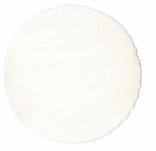 Shaggy Sadeh - White Dywan Ø 150 Nowoczesny Okrągły Beżowy ( Turcja)