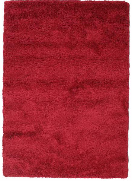 Shaggy Sadeh - Czerwony Dywan 140X200 Nowoczesny Czerwony/Ciemnoczerwony ( Turcja)