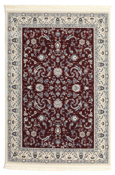 Nain Florentine - Ciemny Czerwony Dywan 160X230 Orientalny Beżowy/Jasnoszary/Ciemnobrązowy ( Turcja)