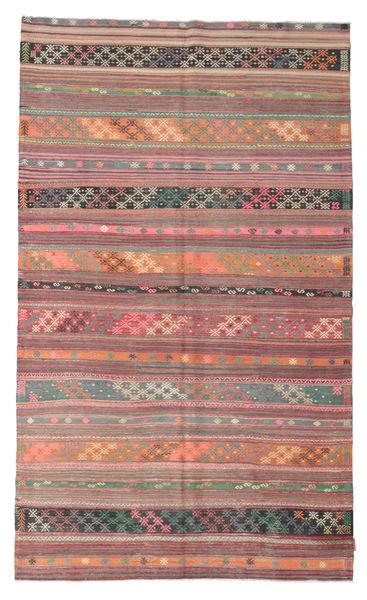 Kilim Pół -Antyk Tureckie Dywan 171X285 Orientalny Tkany Ręcznie Brązowy/Jasnoszary (Wełna, Turcja)