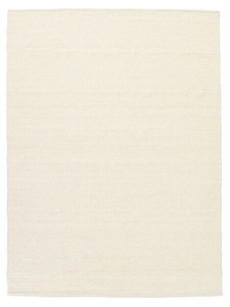 Kilim Loom - Kość Słoniowa Dywan 160X230 Nowoczesny Tkany Ręcznie Beżowy/Biały/Creme (Wełna, Indie)