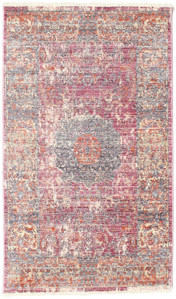 Mira - Różowy Dywan 80X140 Nowoczesny Jasnofioletowy/Beżowy ( Turcja)