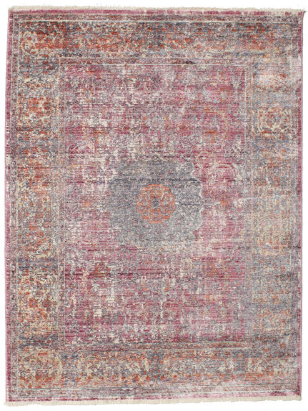 Mira - Różowy Dywan 120X170 Nowoczesny Jasnofioletowy/Jasnoszary ( Turcja)
