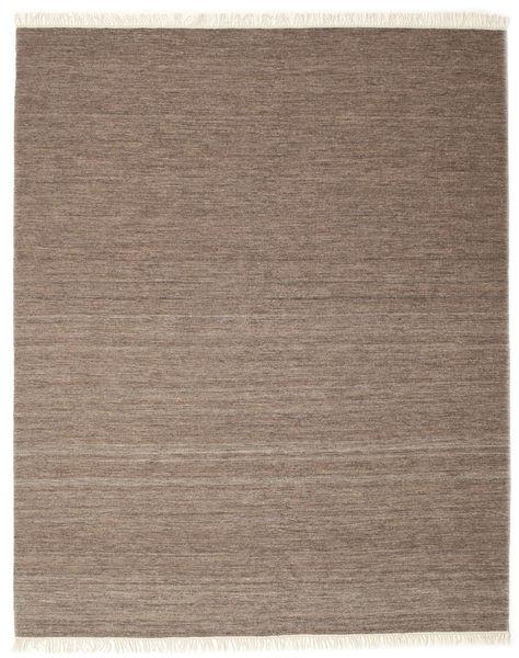 Melange - Brunatny Dywan 250X300 Nowoczesny Tkany Ręcznie Jasnoszary/Brązowy Duży (Wełna, Indie)
