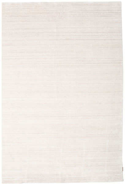Bamboo Jedwab Loom - Beżowy Dywan 250X350 Nowoczesny Biały/Creme/Beżowy Duży ( Indie)