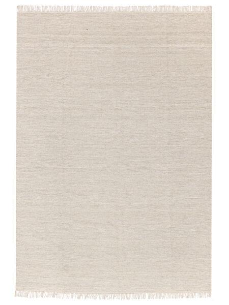 Melange - Piasek Dywan 140X200 Nowoczesny Tkany Ręcznie Beżowy/Ciemnobeżowy (Wełna, Indie)