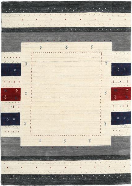 Loribaf Loom Designer Dywan 160X230 Nowoczesny Beżowy/Ciemnoszary (Wełna, Indie)