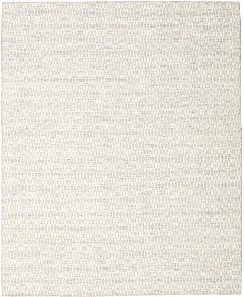 Kilim Long Stitch - Beżowy Dywan 240X300 Nowoczesny Tkany Ręcznie Ciemnobeżowy/Beżowy (Wełna, Indie)