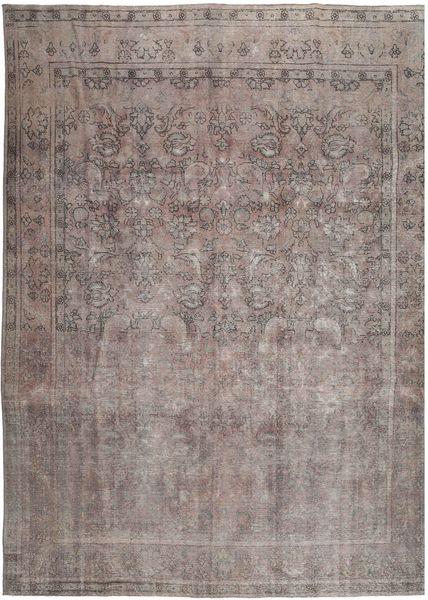 Vintage Dywan 288X380 Nowoczesny Tkany Ręcznie Ciemnoszary/Jasnoszary Duży (Wełna, Persja/Iran)