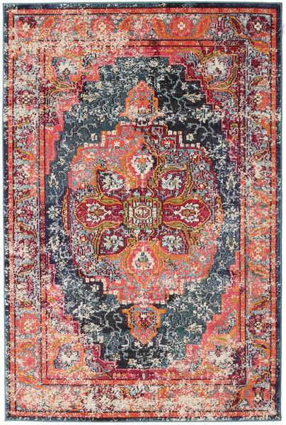 Brissac - Pomarańczowy Dywan 160X230 Nowoczesny Rdzawy/Czerwony/Jasnoszary ( Turcja)