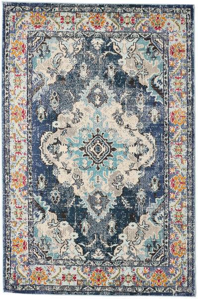 Leia - Niebieski Dywan 160X230 Nowoczesny Jasnoszary/Jasnozielony ( Turcja)