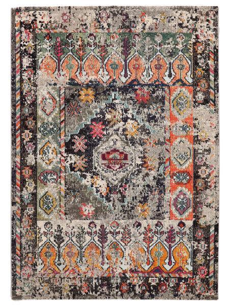 Cassiopeia - Vintage Dywan 120X170 Nowoczesny Jasnoszary/Ciemnoszary ( Turcja)