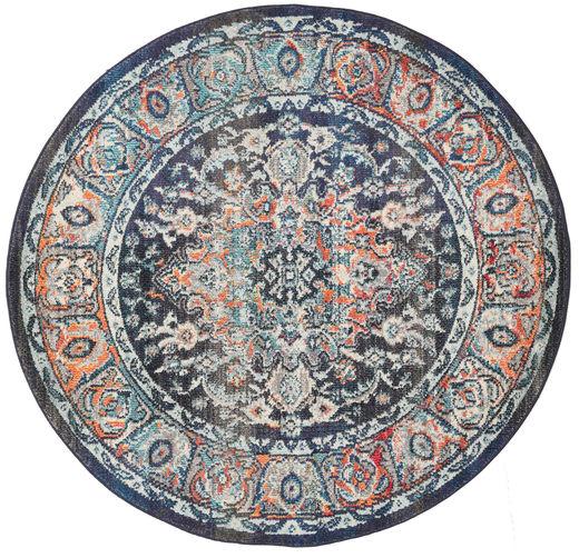 Elnath Dywan Ø 150 Nowoczesny Okrągły Jasnoszary/Ciemnoszary ( Turcja)