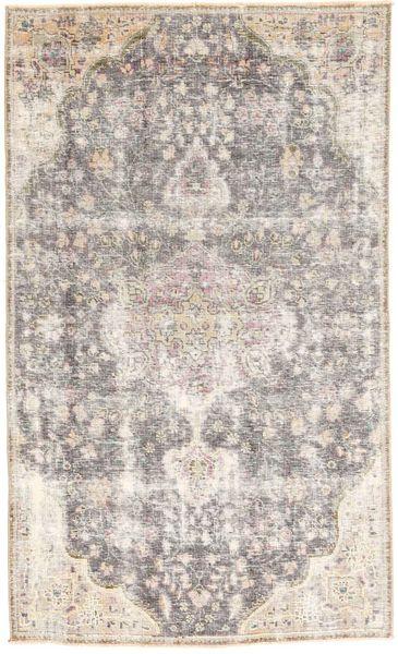 Colored Vintage Dywan 125X210 Nowoczesny Tkany Ręcznie Jasnoszary/Beżowy (Wełna, Persja/Iran)