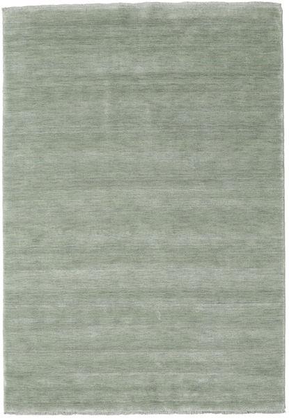Handloom Fringes - Soft Teal Dywan 160X230 Nowoczesny Jasnozielony (Wełna, Indie)