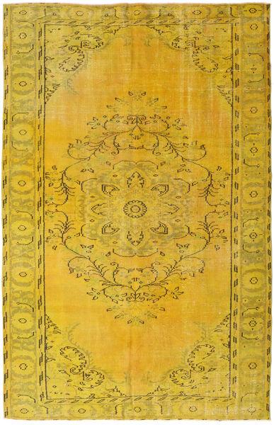 Colored Vintage Dywan 172X269 Nowoczesny Tkany Ręcznie Żółty (Wełna, Turcja)