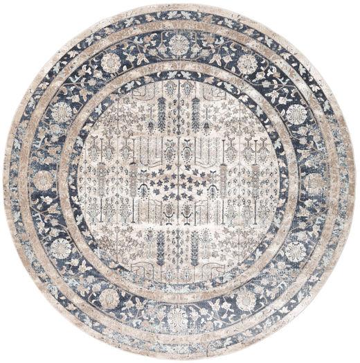 Talis Dywan Ø 150 Nowoczesny Okrągły Jasnoszary/Ciemnoszary ( Turcja)