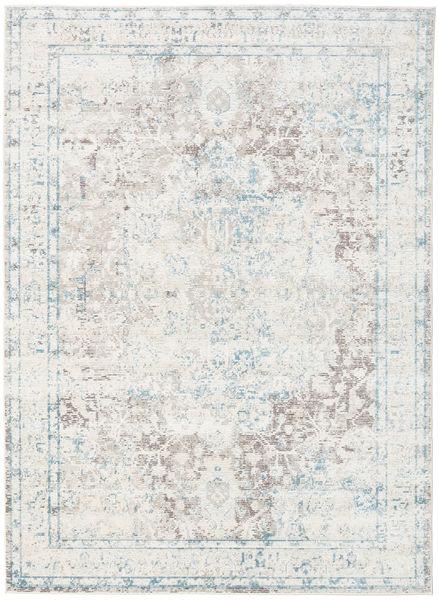 Nadia - Jasny Dywan 160X230 Nowoczesny Jasnoszary/Biały/Creme ( Turcja)