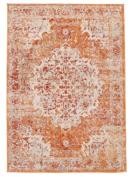 Nadia - Pomarańczowy Dywan 160X230 Nowoczesny Jasnobrązowy/Brązowy ( Turcja)