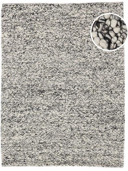 Bubbles - Melange Szary Dywan 170X240 Nowoczesny Jasnoszary/Ciemnoszary (Wełna, Indie)