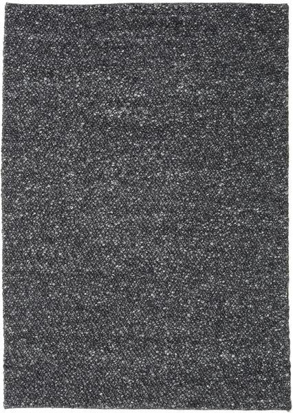 Bubbles - Melange Czarny Dywan 170X240 Nowoczesny Ciemnoszary (Wełna, Indie)