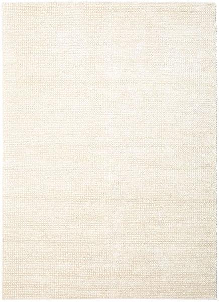 Manhattan - White Dywan 250X350 Nowoczesny Beżowy/Biały/Creme Duży ( Indie)