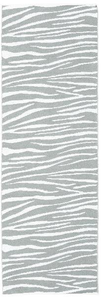 Dywan Zewnętrzny Zebra - Zielony Dywan 70X210 Nowoczesny Chodnik Jasnoniebieski/Beżowy ( Szwecja)