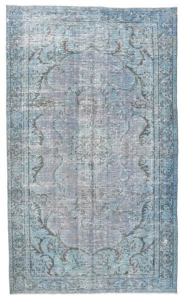 Colored Vintage Dywan 158X260 Nowoczesny Tkany Ręcznie Jasnoniebieski/Jasnoszary (Wełna, Turcja)