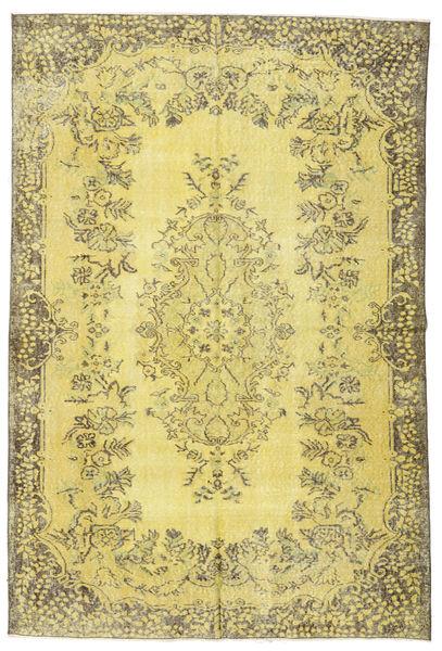 Colored Vintage Dywan 174X260 Nowoczesny Tkany Ręcznie Żółty/Zielony/Oliwkowy (Wełna, Turcja)