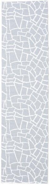 Dywan Zewnętrzny Terrazzo - Szary/White Dywan 70X280 Nowoczesny Chodnik Jasnoniebieski/Beżowy ( Szwecja)