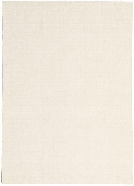 Kilim Loom - Natural Dywan 160X230 Nowoczesny Tkany Ręcznie Ciemnobeżowy/Beżowy (Wełna, Indie)