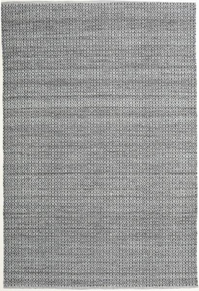 Alva - Szary/Czarny Dywan 200X300 Nowoczesny Tkany Ręcznie Jasnoszary/Jasnozielony (Wełna, Indie)