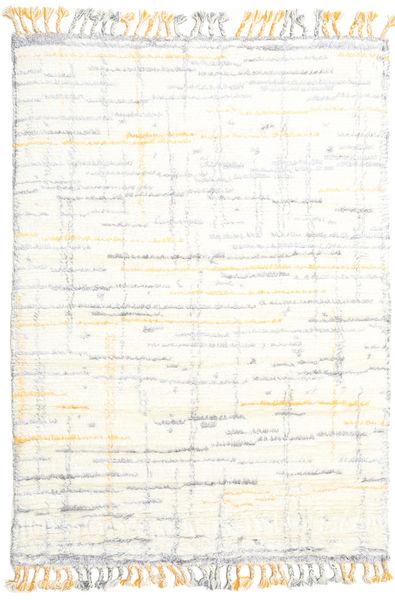 Rakel Dywan 160X230 Nowoczesny Tkany Ręcznie Beżowy/Biały/Creme (Wełna, Indie)