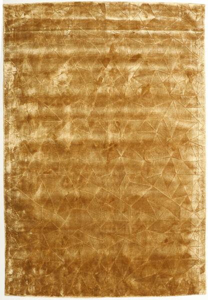 Crystal - Złoty Dywan 160X230 Nowoczesny Jasnobrązowy/Ciemnobeżowy ( Indie)