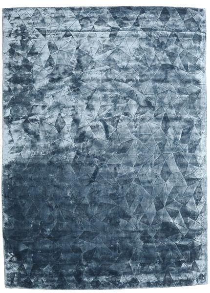 Crystal - Steel Blue Dywan 240X340 Nowoczesny Jasnoniebieski/Niebieski ( Indie)